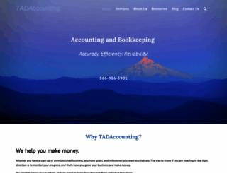 tadaccounting.com screenshot