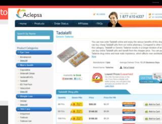 tadarisestore.snappages.com screenshot