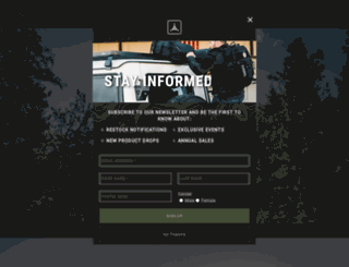 tadgear.com screenshot