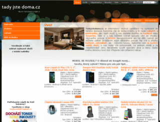 tadyjstedoma.cz screenshot