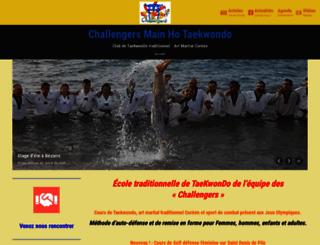 taekwondo-club.fr screenshot