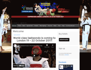 taekwondogp.wordpress.com screenshot