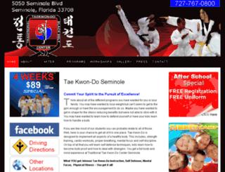 taekwondoseminole.com screenshot