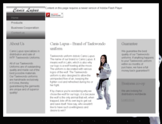 taekwondouniforms.net screenshot