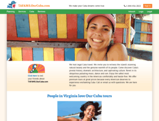 tafams.ourcuba.com screenshot