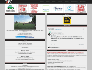 tafc.co.uk screenshot