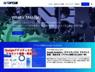 tafcue.com screenshot