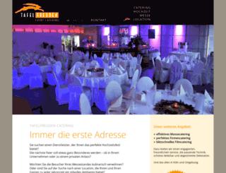 tafelfreuden.com screenshot