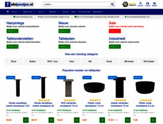 tafelpootjes.nl screenshot