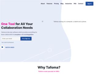 tafoma.com screenshot