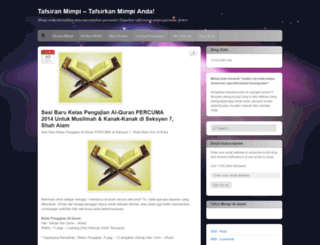 tafsirmimpi.wordpress.com screenshot