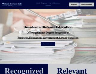 taft.edu screenshot