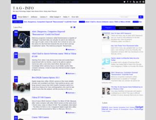 tag-info.blogspot.com screenshot