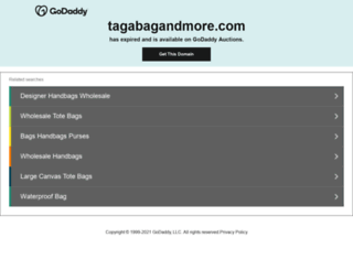 tagabagandmore.com screenshot