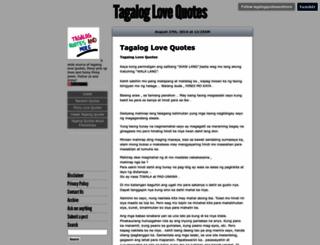 tagalogquotesandmore.tumblr.com screenshot