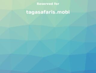 tagasafaris.mobi screenshot