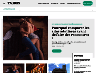 tagbox.fr screenshot