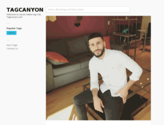tagcanyon.com screenshot