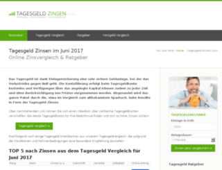 tagesgeldkonto-info.de screenshot