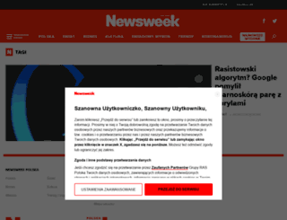 tagi.newsweek.pl screenshot