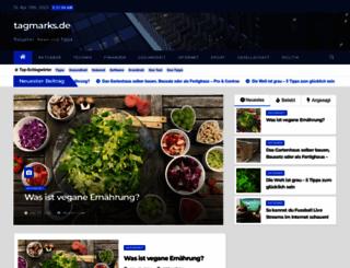 tagmarks.de screenshot