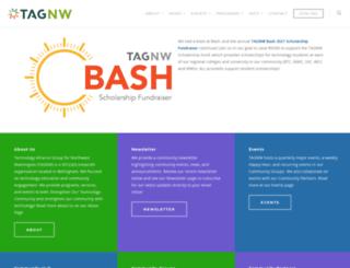 tagnw.org screenshot