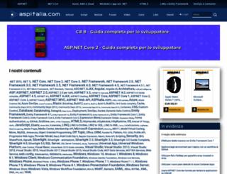 tags.aspitalia.com screenshot