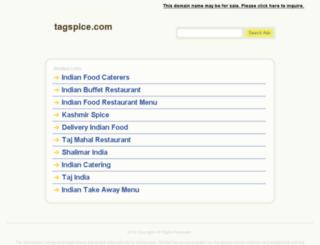 tagspice.com screenshot