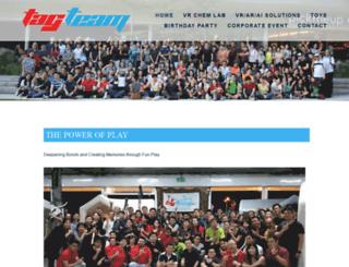 tagteaminc.sg screenshot