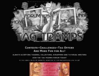 tagtramps.com screenshot