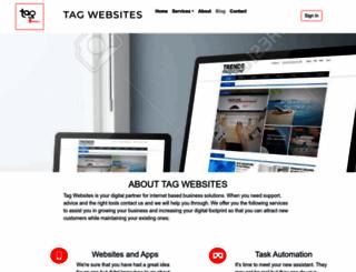 tagwebsites.com.au screenshot