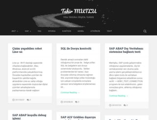 tahirmutlu.com screenshot