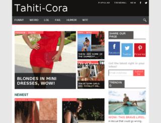 tahiti-cora.com screenshot