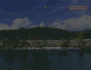 tahiti.intercontinental.com screenshot