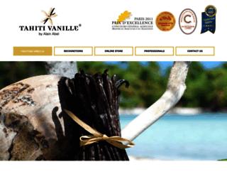 tahitian-vanilla.com screenshot