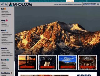 tahoe.com screenshot