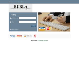 tahsilat.e-burla.com screenshot