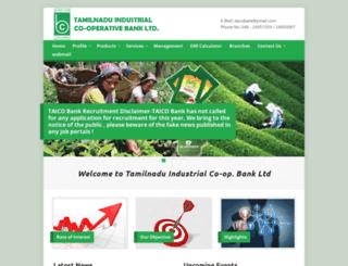 taicobank.in screenshot