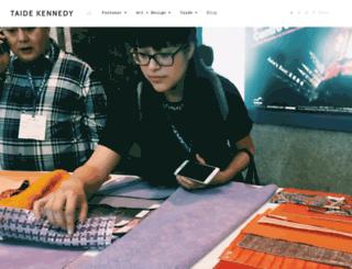 taidekennedy.com screenshot