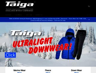 taigaworks.ca screenshot