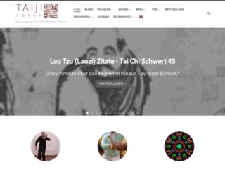 taiji-europa.de screenshot