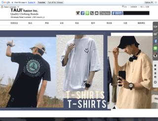 taijifusion.com.tw screenshot