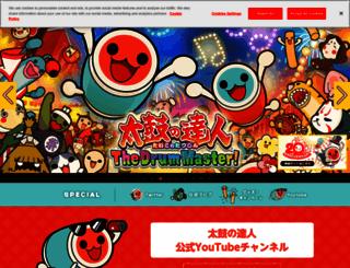 taiko.namco-ch.net screenshot