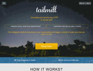 tailmill.com screenshot