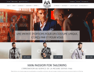 tailorcorner.fr screenshot