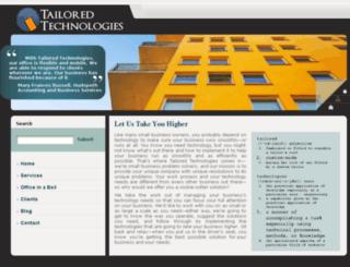 tailoredtechnologies.com screenshot