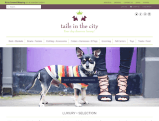 tailsinthecity.com screenshot
