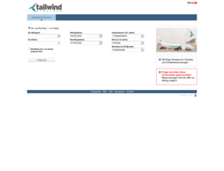 tailwind.air41.de screenshot