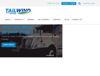 tailwindsys.com screenshot