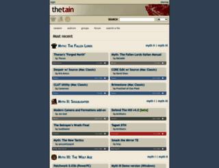 tain.totalcodex.net screenshot